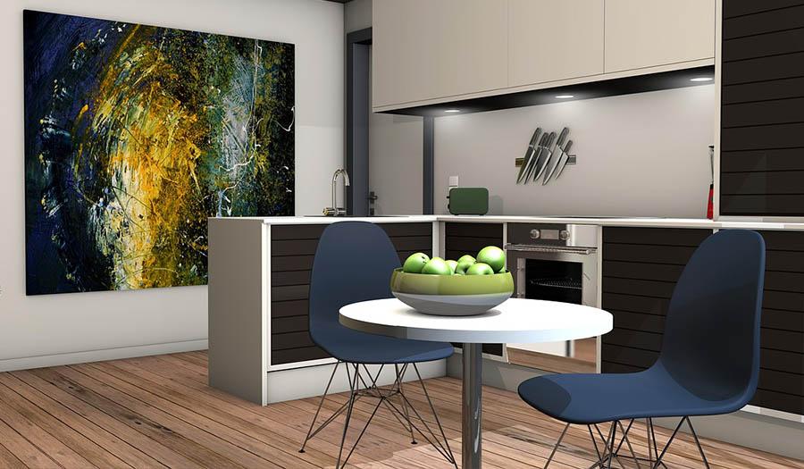 Фэн-Шуй советы по планировке кухни