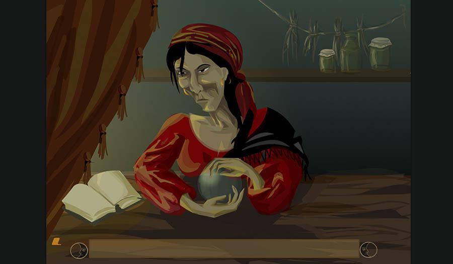 """Флеш гадание """"Книга ведьм"""""""