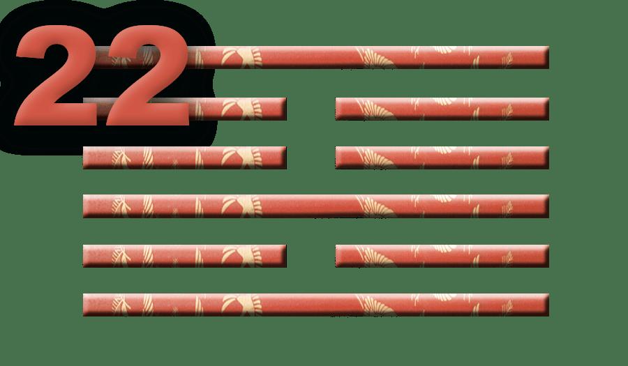 Гексаграмма 22: Благодать и красота