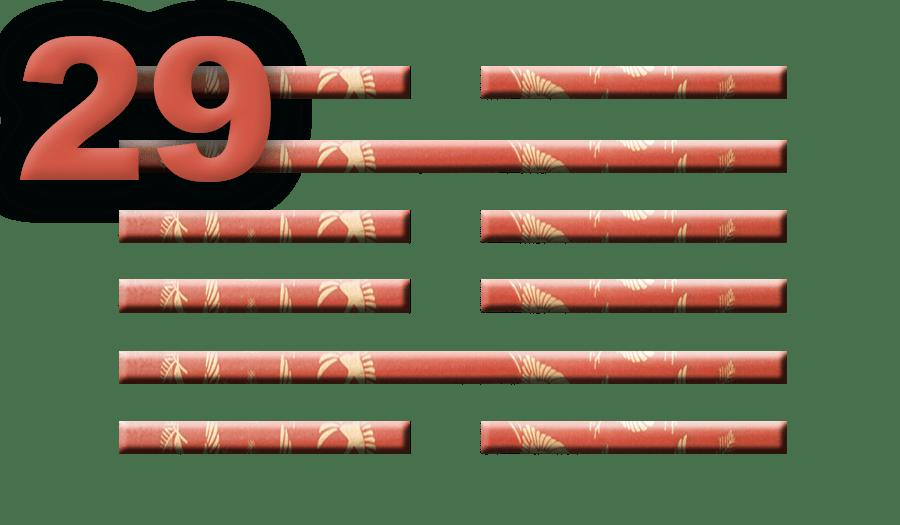 Гексаграмма 29: Опасные глубины