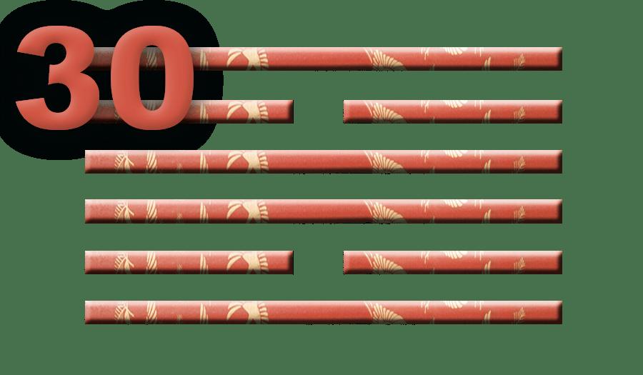 Гексаграмма 30: Сияние