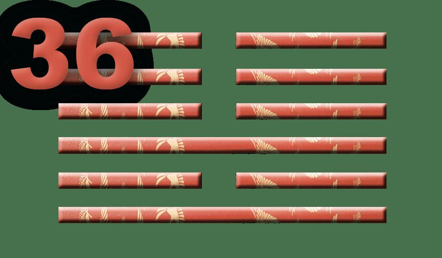 Гексаграмма 36: Поражение света