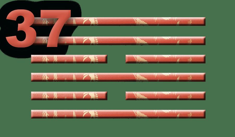 Гексаграмма 37: Большая семья