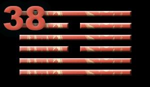 Гексаграмма 38: Разлад