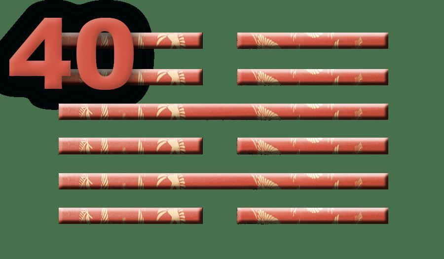 Гексаграмма 40: Освобождение