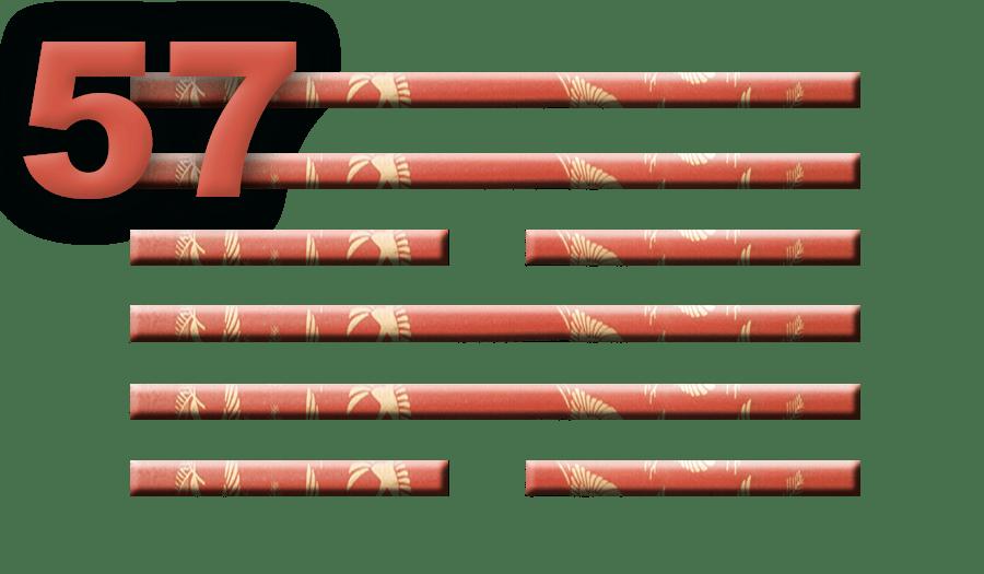 Гексаграмма 57: Проникновение
