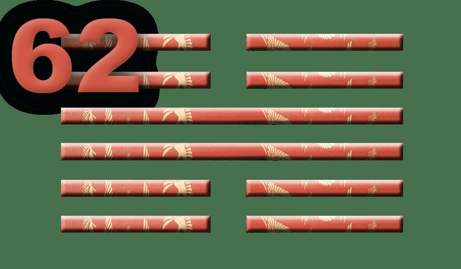 Гексаграмма 62: Внимание к деталям