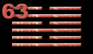 Гексаграмма 63: Завершение