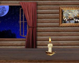 Народное гадание онлайн с зеркалом и свечами