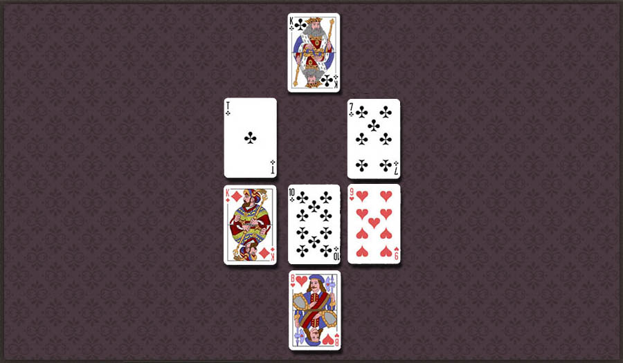 Гадание на игральных картах на негатив