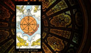 Значение карты Таро «Колесо Фортуны»