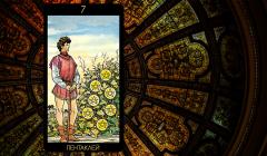 Значение карты Таро «Семерка Пентаклей»