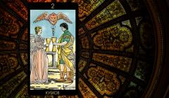 Значение карты Таро «Двойка Кубков»