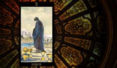 Значение карты Таро «Пятерка Кубков»