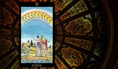 Значение карты Таро «Десятка Кубков»