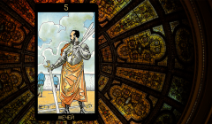 Значение карты Таро «Пятерка Мечей»