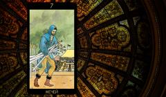 Значение карты Таро «Семерка Мечей»