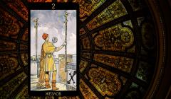 Значение карты Таро «Двойка Жезлов»